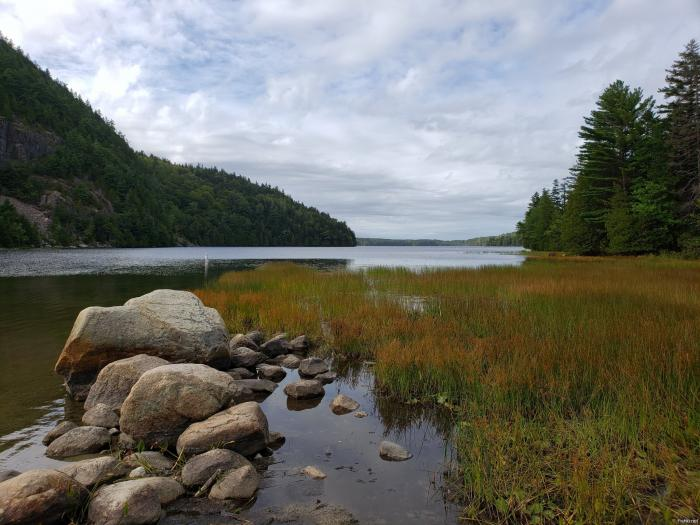 Эко Лейк Бич (Echo Lake Beach), Акадия (Acadia National Park) (4 фото)